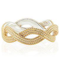 Anna Beck Braided Stacking Ring - Metallic