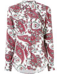 Isabel Marant - Tania Paisley-printed Shirt - Lyst