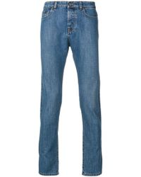 N°21 - No21 Slim-fit Jeans - Lyst