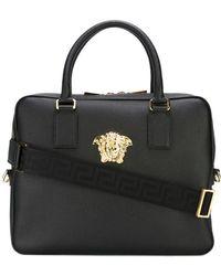 Versace - Medusa Laptop Bag - Lyst