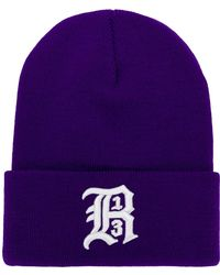 R13 - Embroidered Knit Beanie Hat - Lyst