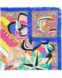 Emilio Pucci - Printed Scarf - Lyst