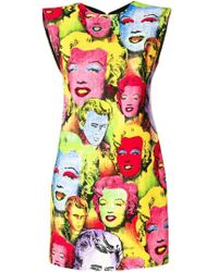 Versace - Marilyn Mini Dress - Lyst