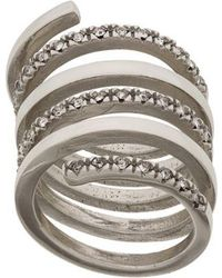 FEDERICA TOSI - Twirl Spiral Ring - Lyst