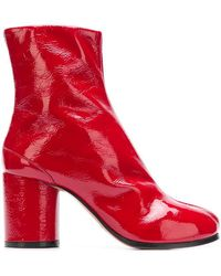 Maison Margiela - Tabi Ankle Boots - Lyst