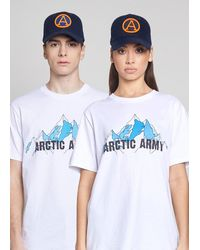 ARCTIC ARMY Cap - Navy - Blue