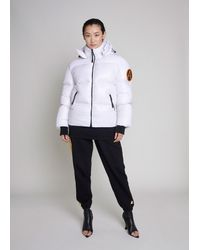 ARCTIC ARMY Puffer Jacket - White