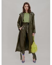 The Attico Army Green Trench