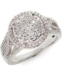 Effy | 14k White Gold Ring With 0.98tcw Diamonds | Lyst