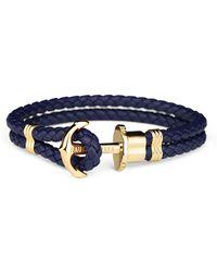 PAUL HEWITT - Maritime Braided Bracelet - Lyst