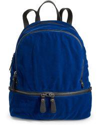 Lord & Taylor - Velvet Backpack - Lyst
