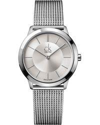 Calvin Klein - Minimal Horloge - Lyst