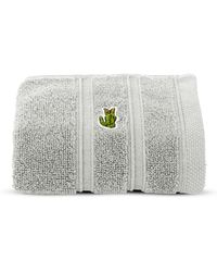 Lacoste - Solid Cotton Hand Towel - Lyst