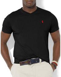 Polo Ralph Lauren - Big And Tall Jersey V-neck T-shirt - Lyst