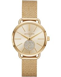 Michael Kors - Dames Horloge Portia Mk3844 - Lyst