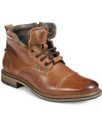 Bugatti - Marcello Leather Street Boots - Lyst