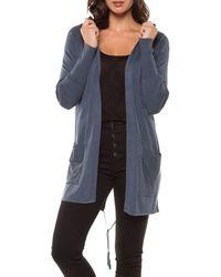 Dex | Long-sleeve Hooded Cardigan | Lyst