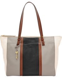 Fossil - Rachel Vintage Leather Tote - Lyst