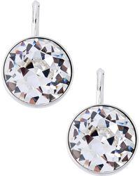 Swarovski | Bella Crystal Pierced Earrings | Lyst