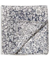 Topman | Floral-printed Pocket Square | Lyst