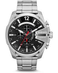 DIESEL - Mega Chief Heren Horloge Dz4308 - Lyst