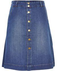 Inwear - Agnes Short Denim Skirt - Lyst