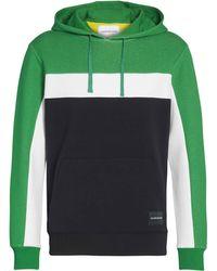 Calvin Klein Color Blocking Hoodie - Groen