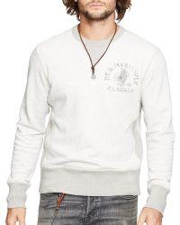 Denim & Supply Ralph Lauren - Cotton-blend Fleece Sweatshirt - Lyst