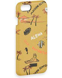 Scotch & Soda - Hoesje Voor Iphone 7 & 8 Met Print - Lyst