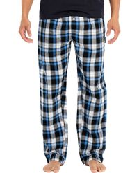 Joe Boxer - Flannel Tee And Pant Set - Lyst