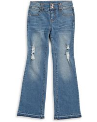 Material Girl | Decon Unravelled Flare Jeans | Lyst