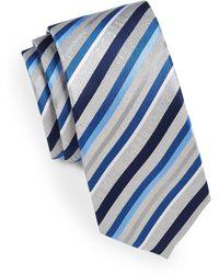 Geoffrey Beene - Double Print Silk Tie - Lyst