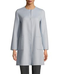 Weekend by Maxmara - Zavorra Wool-blend Coat - Lyst