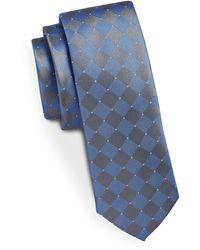 Kenneth Cole - Silk Check Tie - Lyst