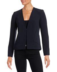 Ellen Tracy - Tailored Blazer - Lyst