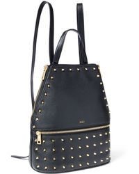 Lauren by Ralph Lauren | Arley Blaine Studded Leather Backpack | Lyst