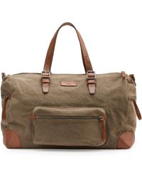 Liebeskind - Zip Canvas And Leather Carryall - Lyst