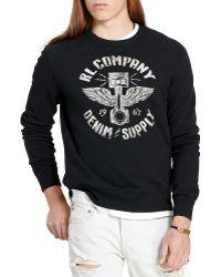 Denim & Supply Ralph Lauren   French Terry Sweatshirt   Lyst