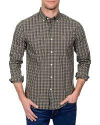 Victorinox | Classic Plaid Button Down Shirt | Lyst