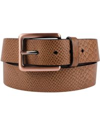 CALVIN KLEIN 205W39NYC - Snake Embossed Leather Belt - Lyst