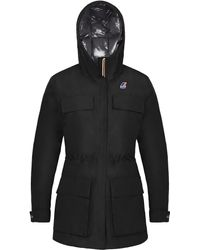 K-Way - Ines Thermo Heavy Hoodie - Lyst