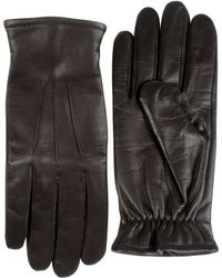 Black Brown 1826 - Cashmere-lined Leather Gloves - Lyst