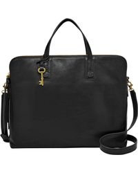 Fossil | Emma Leather Laptop Bag | Lyst