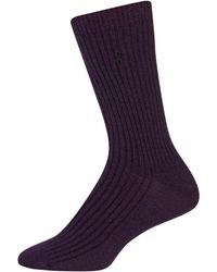 Lauren by Ralph Lauren - Basic Rib Trouser Socks - Lyst
