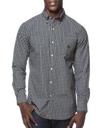 Chaps - Glen Plaid Poplin Shirt - Lyst