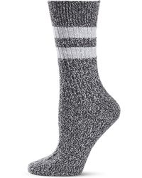 Frye | Athletic Stripe Supersoft Boot Socks | Lyst