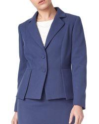 Precis Petite - Eliza Peplum Tailored Jacket - Lyst