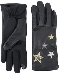 Lord & Taylor - Embroidered Star Gloves - Lyst