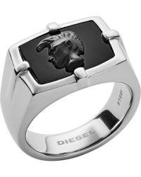 DIESEL - Heren Ring Dx1175040 - Lyst