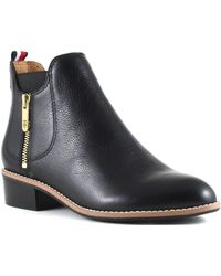 Tommy Hilfiger - Toscana Booties - Lyst